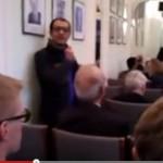 Dr. Kazem Moussavi protests against Iranian regime's foreign minister