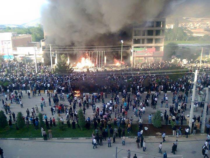Protests and tensions in Mahabad, Iran's Kurdistan