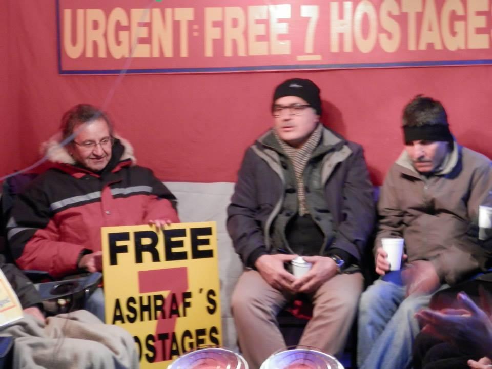 دیدار و حمایت از اعتصاب غذا کنندگان در اتاوا