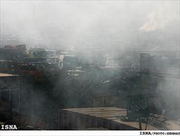 بارش باران اسیدی در شهر اهواز