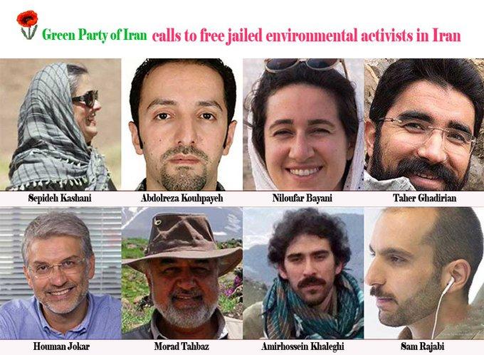 احکام نادعادلانه برای فعالان محیط زیست
