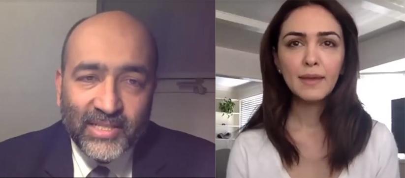"""اشکها و لبخندهای """"حقوق بشری"""" امید نوری پور"""